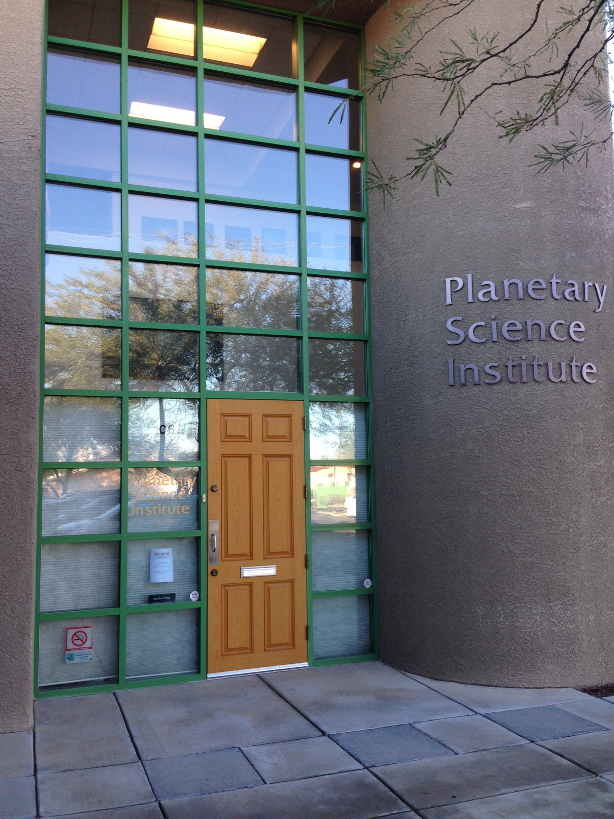 PSI East Wing entrance