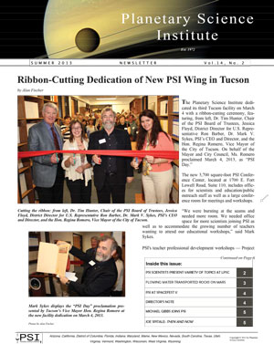 PSI Newsletter Summer 2013